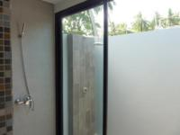 All Villas have both indoor and outdoor hot and cold showers